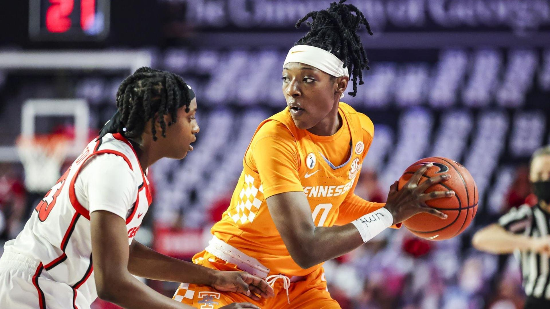 Lady Vol Basketball – No. 21/21 UT Falls at No. 22/23 Georgia, 57-55