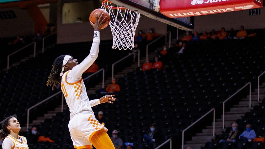 Highlights/Postgame/Boxscore/Story: No. 20/21 Tennessee Fends Off Tigers, 78-73