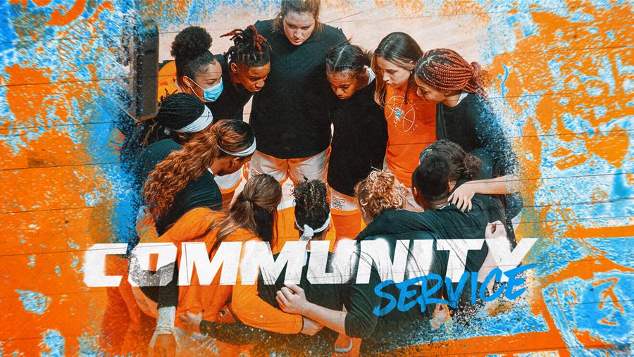 Lady Vols Program Recognized On SEC Women's Hoops Community Service Team
