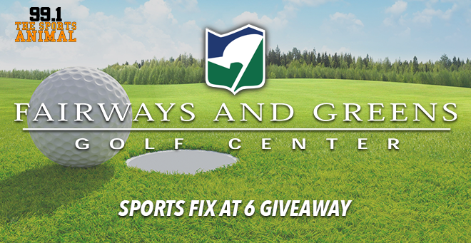 Fairways and Greens Sports Fix at 6 Giveaway