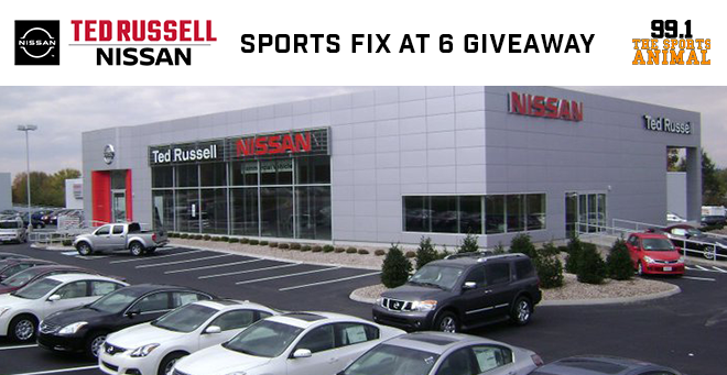 Ted Russell Nissan Sports Fix at 6 Giveaway