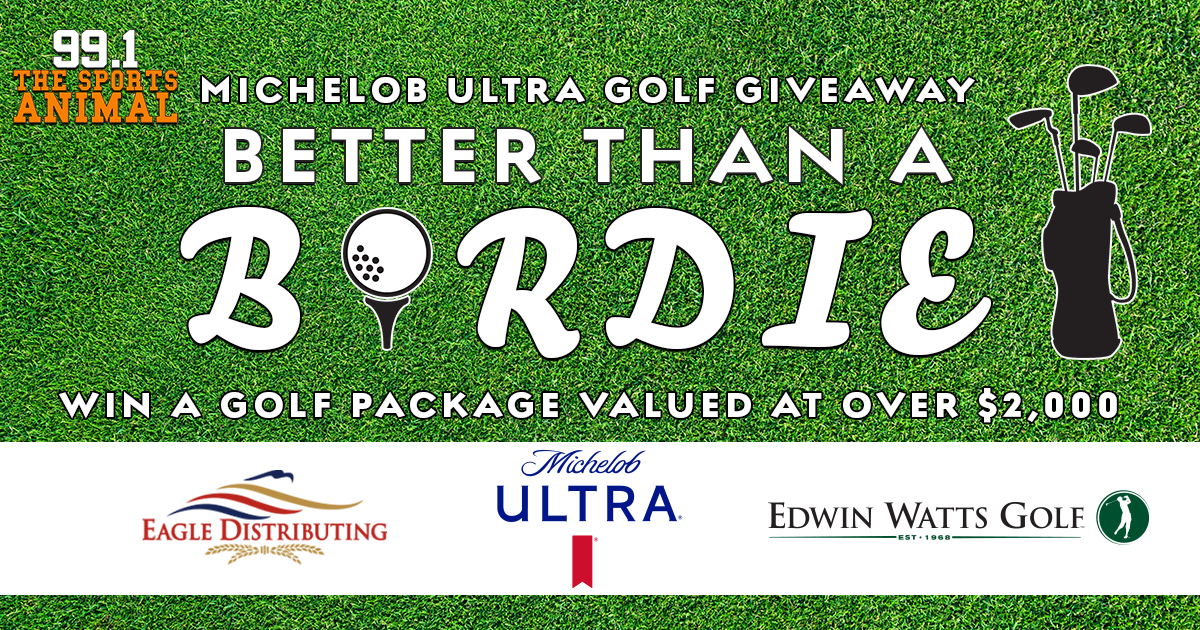Michelob Ultra Better Than A Birdie Golf Giveaway