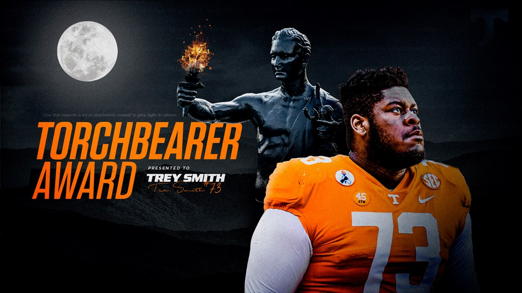 Trey Smith honored as Tennessee Torchbearer