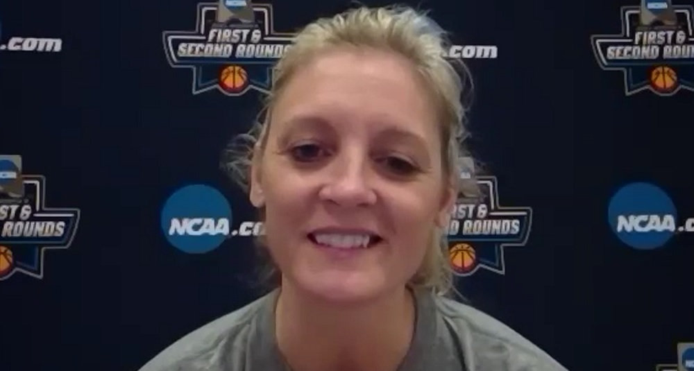 WATCH: Kellie Harper previews 2nd Rd game vs. Michigan