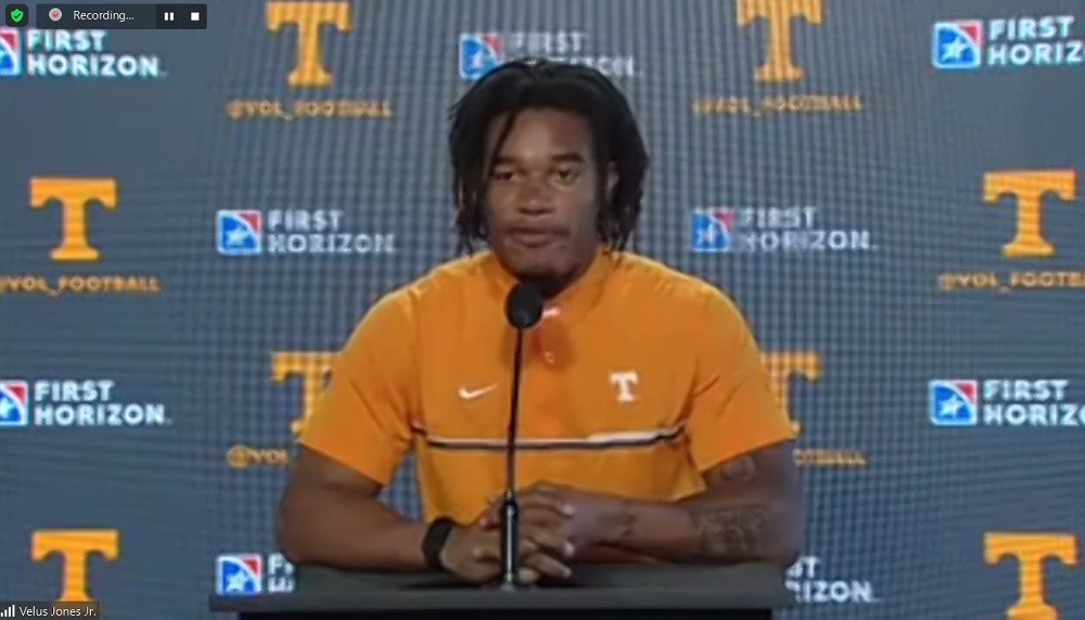"WATCH: Jones Jr. ""This is an offense that's a receiver's dream"""
