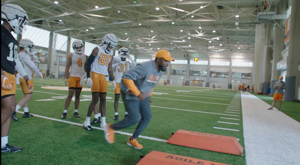 WATCH: 2021 Tennessee Football Spring Practice 2