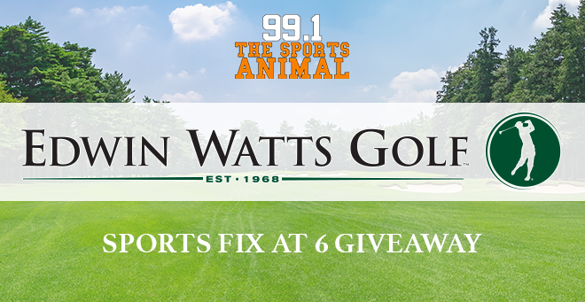 Edwin Watts Golf Sports Fix at 6 Giveaway