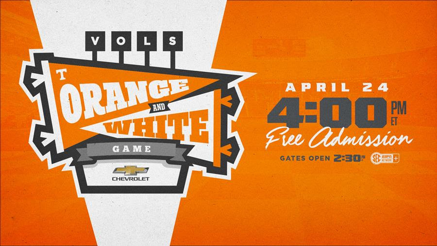 Tennessee Announces 2021 Orange & White Game Details