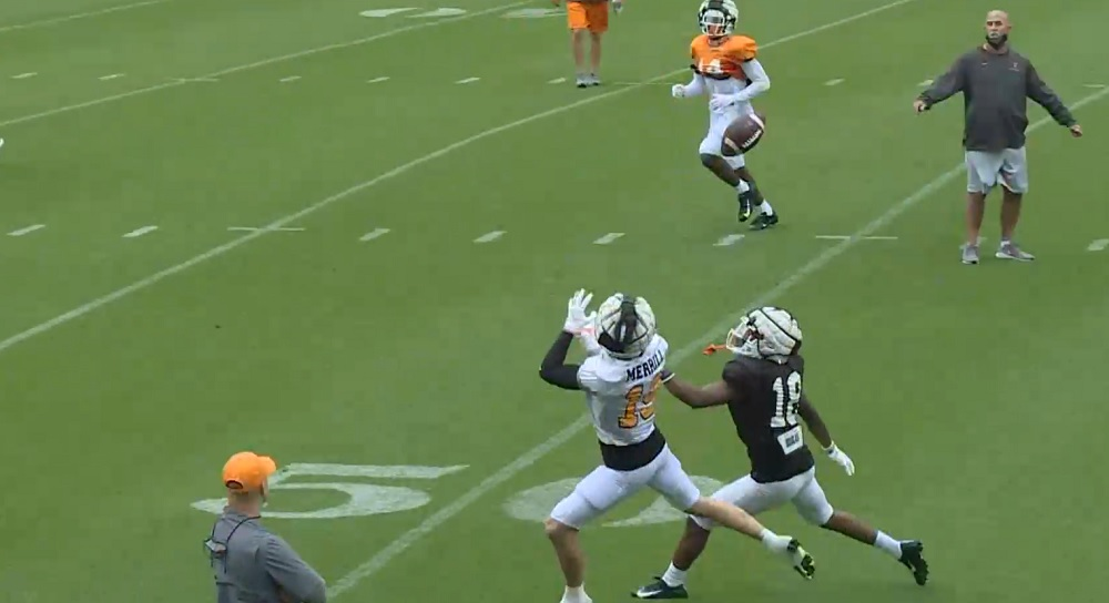 Observations, notes and analysis from Vols open football practice from Vince's View