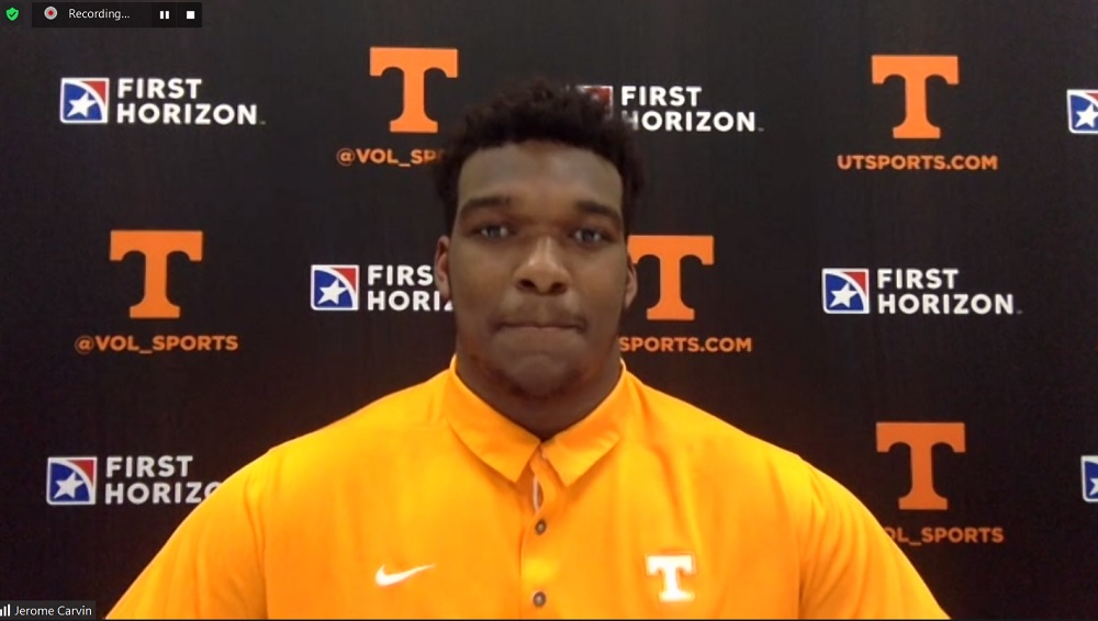WATCH: Jerome Carvin describes new offense, OC Alex Golesh, RBs and tough defenders