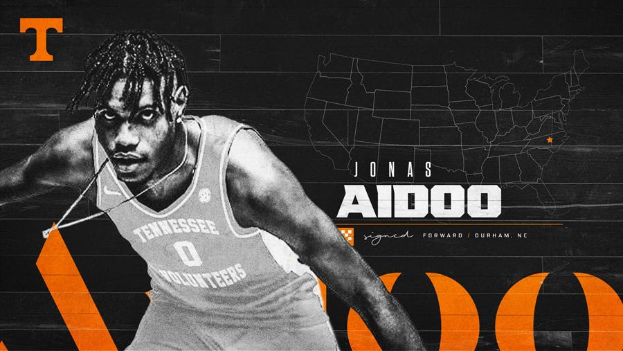 Basketball Vols Bolster Frontcourt with Signing of Jonas Aidoo