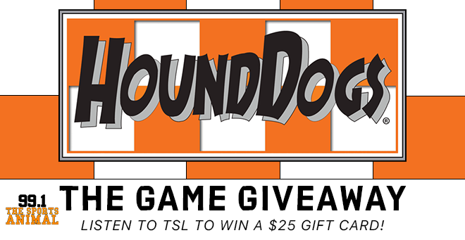HoundDogs The Game Giveaway on The Starting Lineup