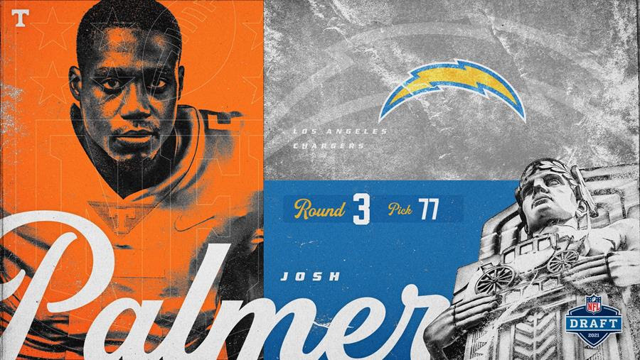 Los Angeles Chargers Select VFL Josh Palmer in Third Round of 2021 NFL Draft