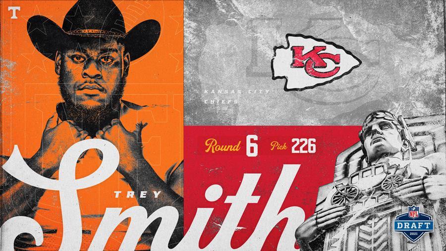 Chiefs Draft Trey Smith in Sixth Round of 2021 NFL Draft