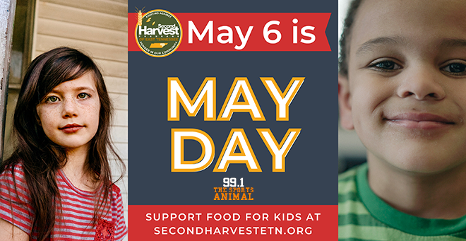 Second Harvest Food Bank MAYDAY 2021