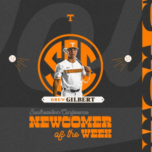 Gilbert Named SEC Newcomer of the Week for Second Time