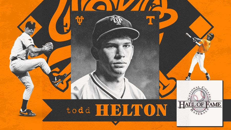 UT Great Todd Helton Selected for Induction into College Baseball Hall of Fame