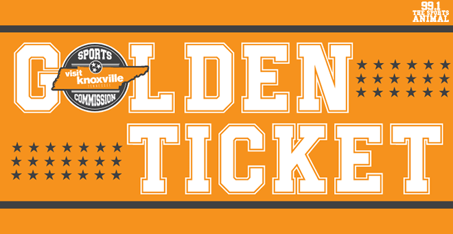 Visit Knoxville Golden Ticket