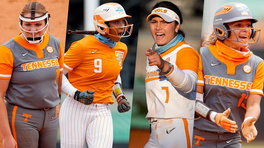 Four Lady Vols Earn NFCA All-Region Honors