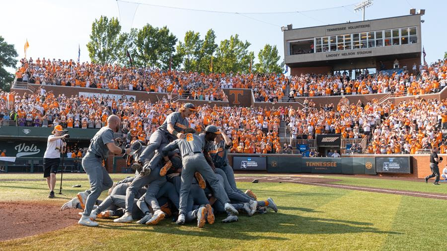 Boxscore/Stats/Story: #3 national seed Vols Tame Tigers to Punch Ticket to College World Series