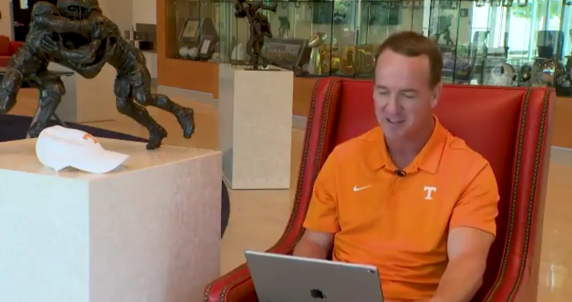 Tennessee Baseball Releases CWS Promo Video With Peyton Manning