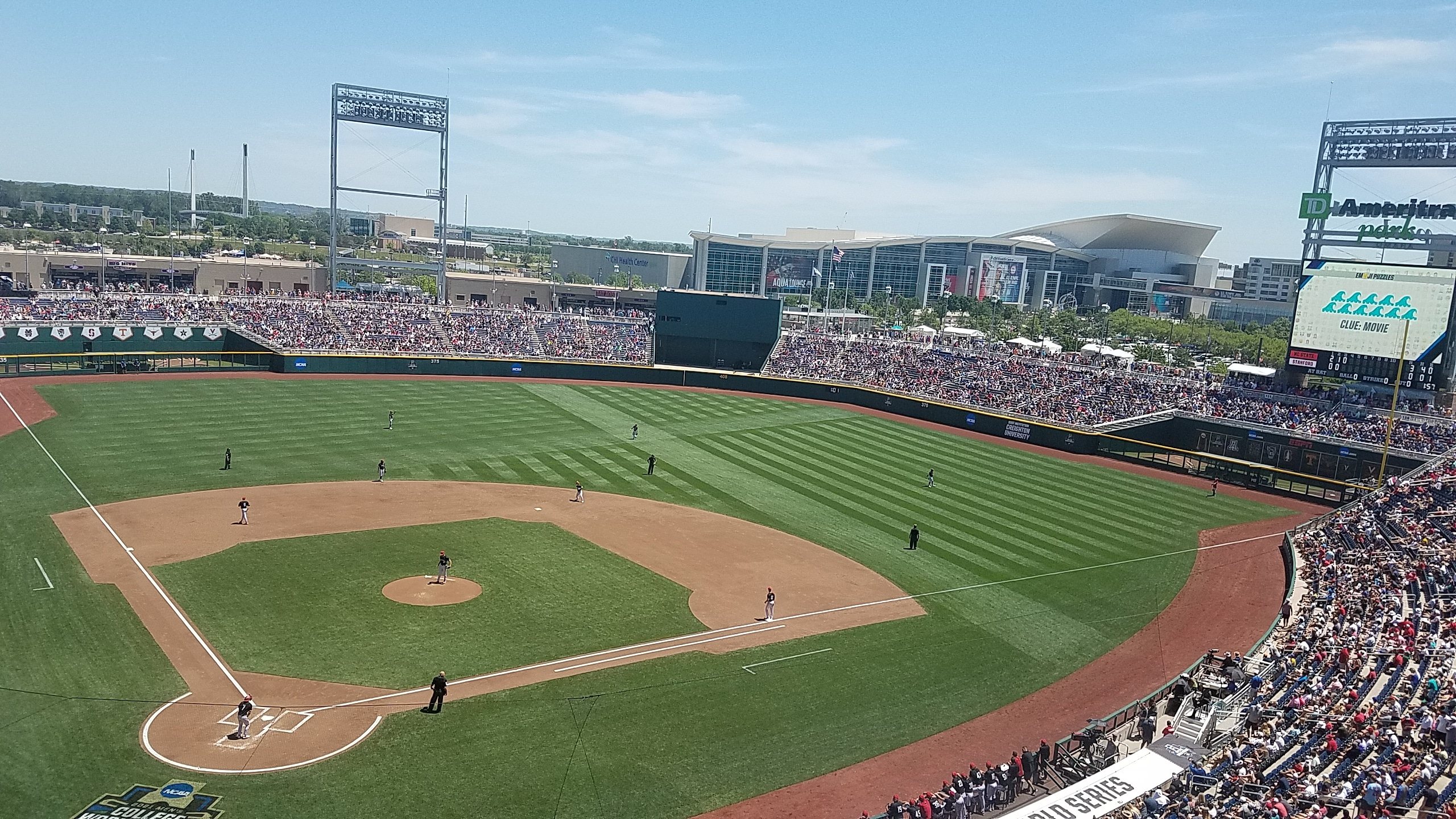 Vince's View from Omaha with the Vols at CWS – Day 2
