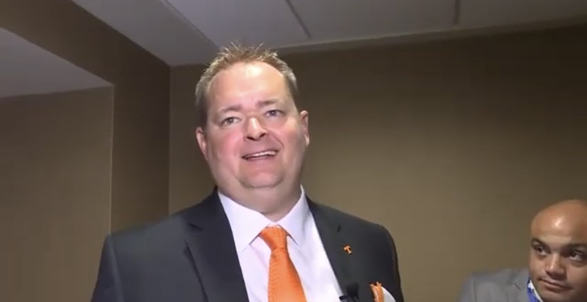 WATCH: Josh Heupel chats with local media in Hoover