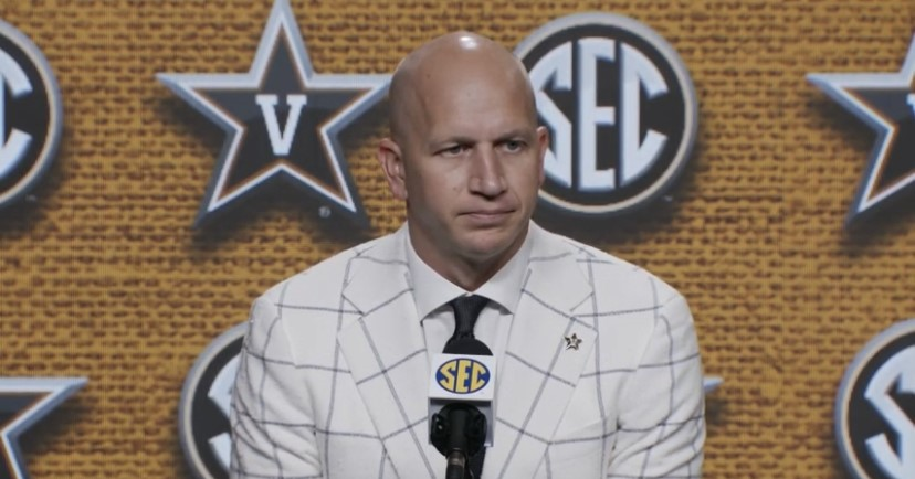 WATCH: Clark Lea takes in first SEC Media Day