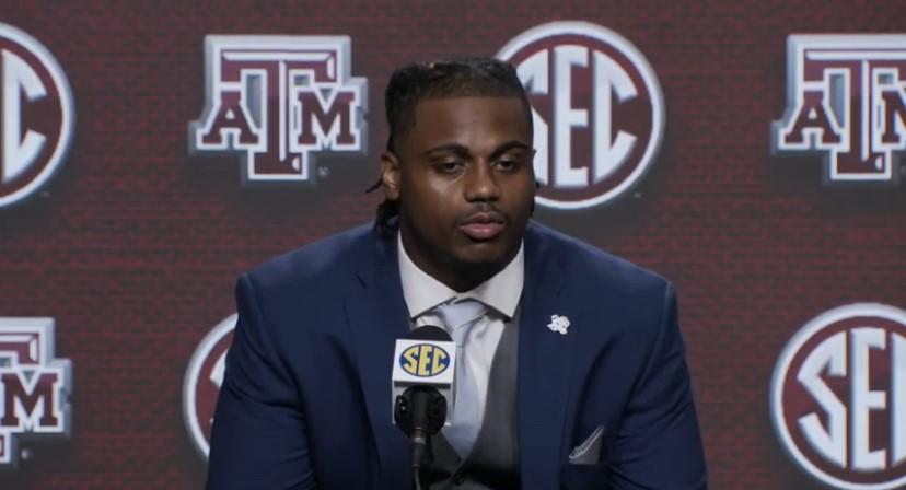 WATCH: DeMarvin Leal speaks at SEC Media Days