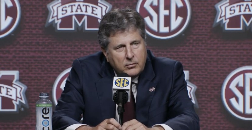 WATCH: Mike Leach takes in Media Days for first time