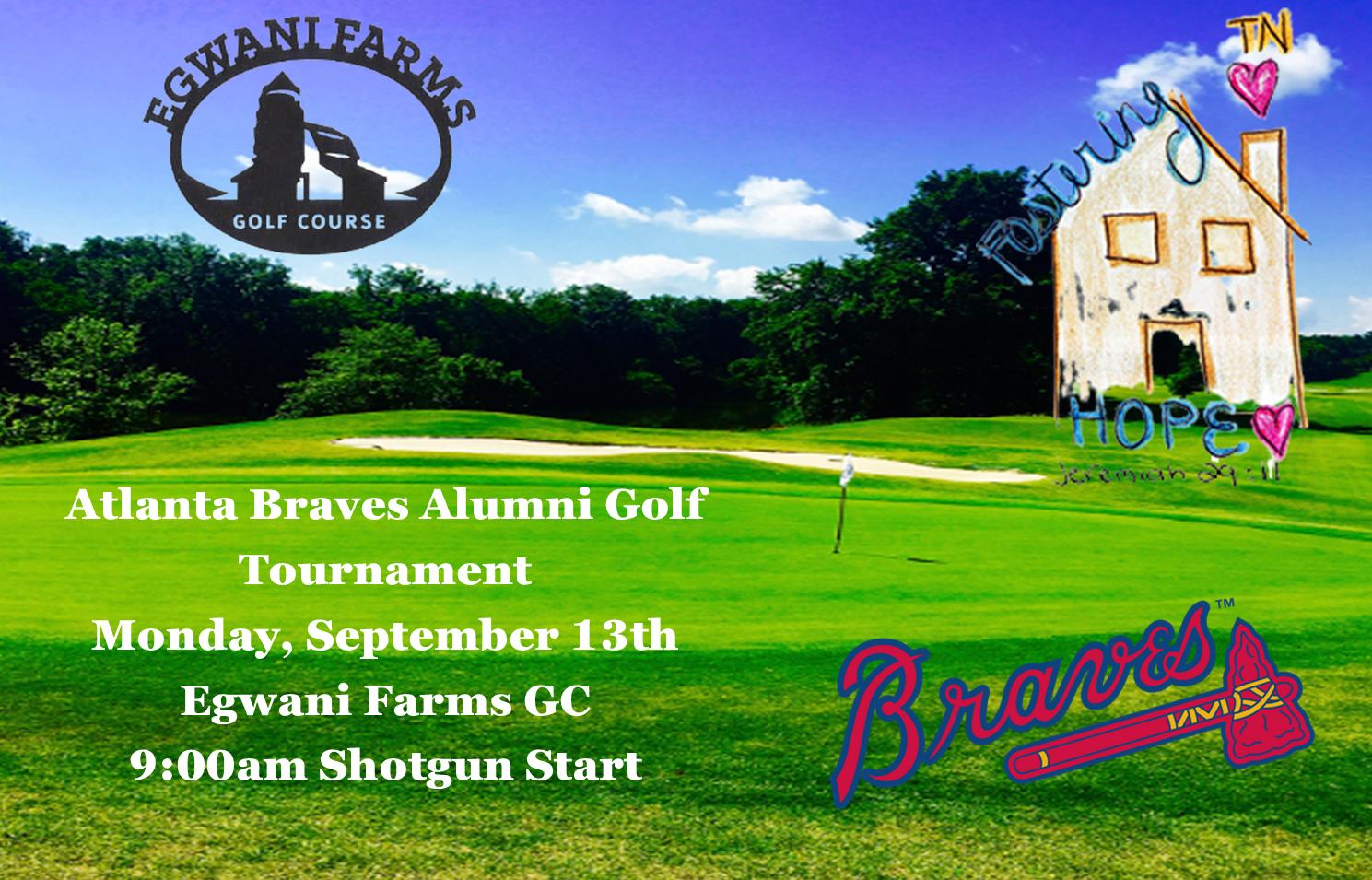 Atlanta Braves Alumni Golf Tournament- Sept 13th