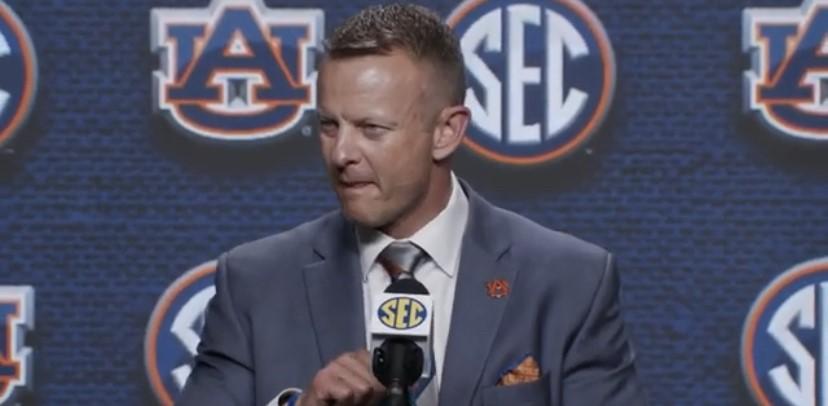 WATCH: Bryan Harsin talks Auburn at SEC Media Days