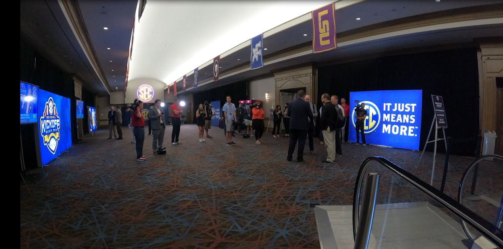 WATCH: Timelapse from #SECMD21