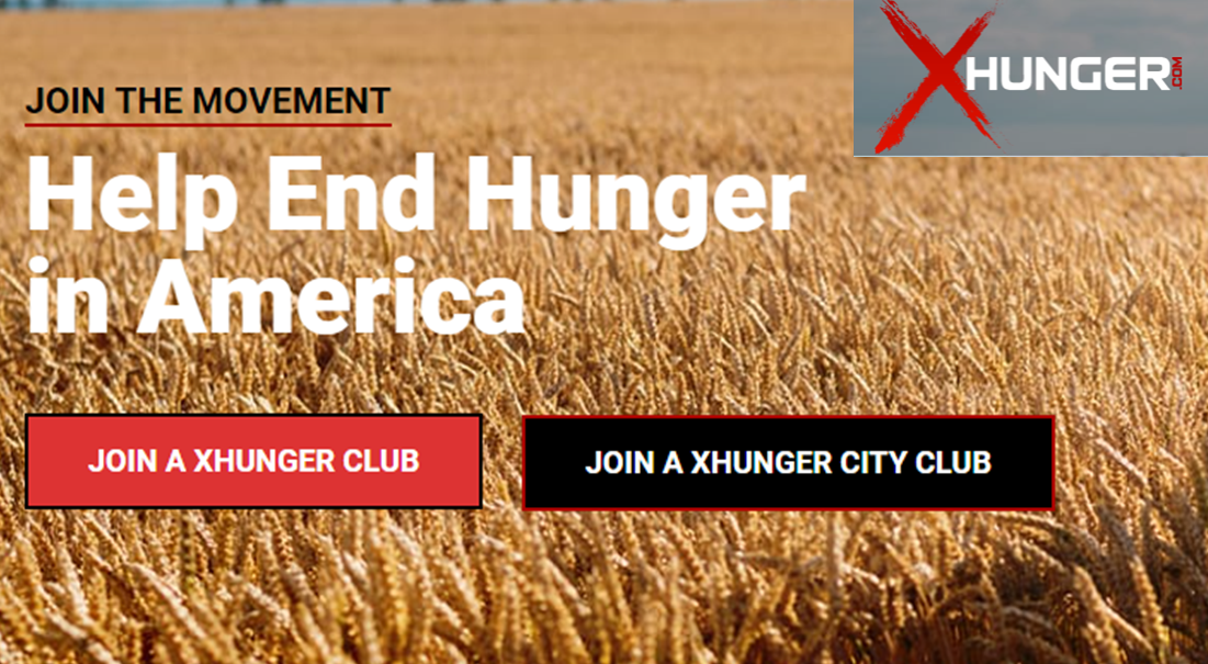 Support XHunger this season!