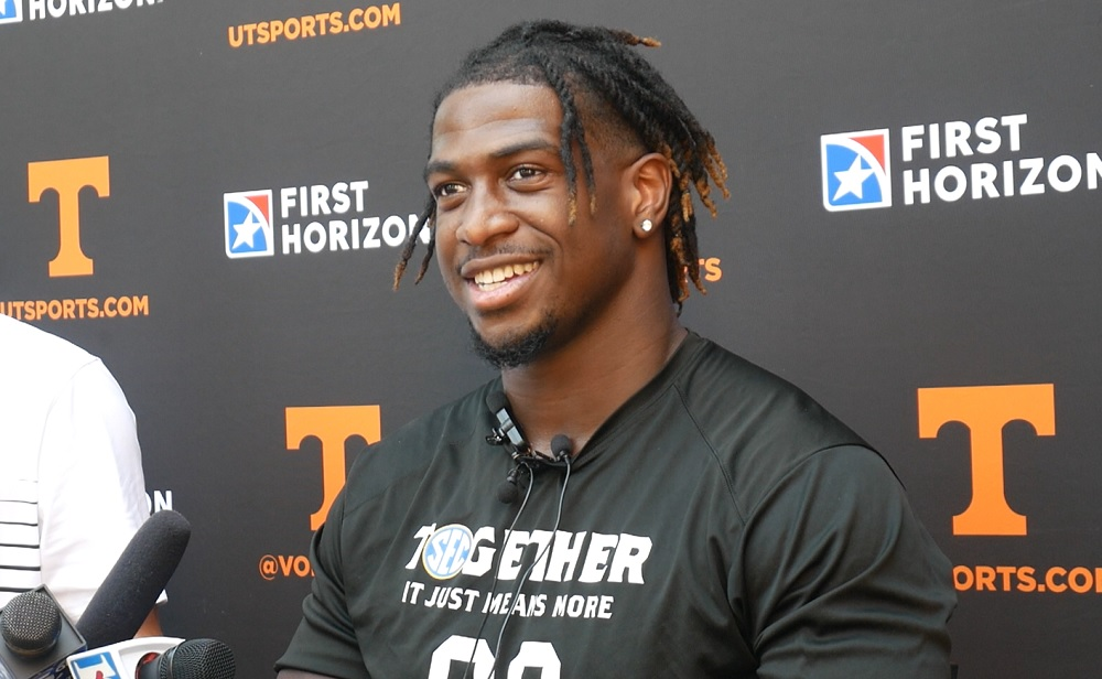 """WATCH: Princeton Fant """"We've (tight ends) been involved a whole lot more, definitely, and I love it"""""""