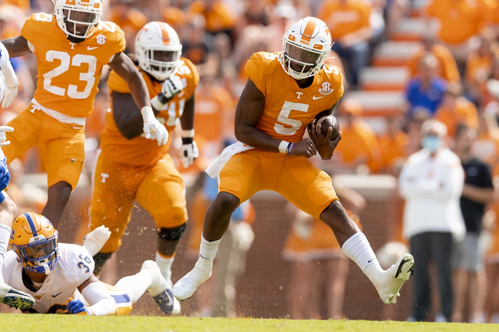 SEC Week 3 score predictions and picks ATS of 12 games including Tennessee/TN Tech