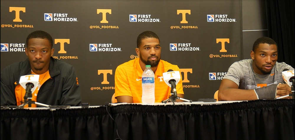 WATCH: UT postgame from Hooker, Page III and McCollough after 56-0 win over TTU