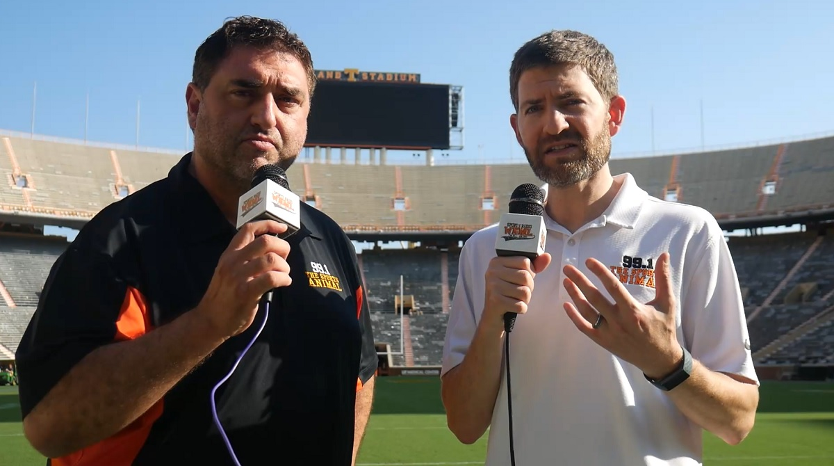 WATCH: 99.1 The Sports Animal's recap of Tennessee's 45-20 win over South Carolina