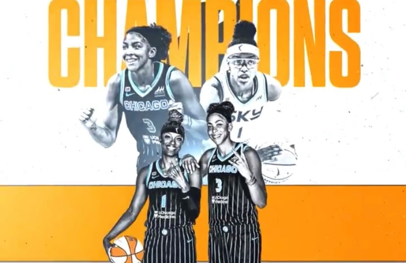 Candace Parker, LVFLs Celebrate 2021 WNBA Title