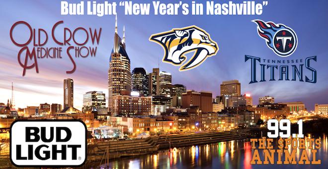Bud Light New Year's in Nashville