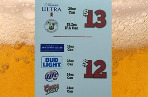 Numbers From UT's First Game With Beer Sales