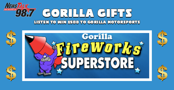 Gorilla Motorsports Holiday Giveaway