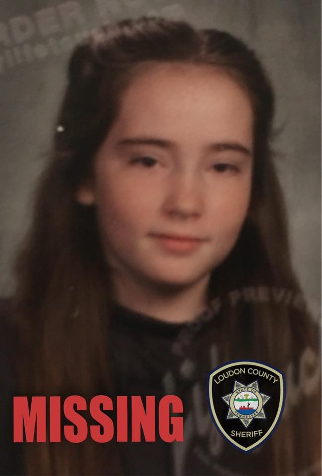Missing 11-Year-Old Loudon County Girl