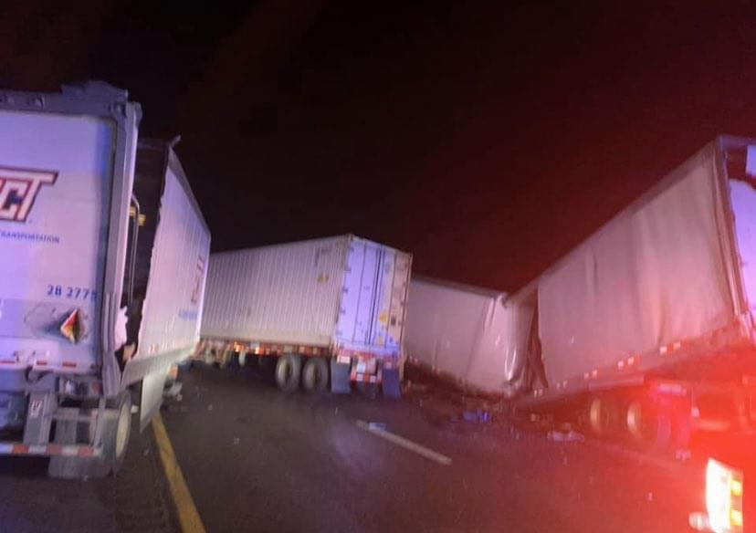 Crash Shuts Down I-75 N in Campbell County