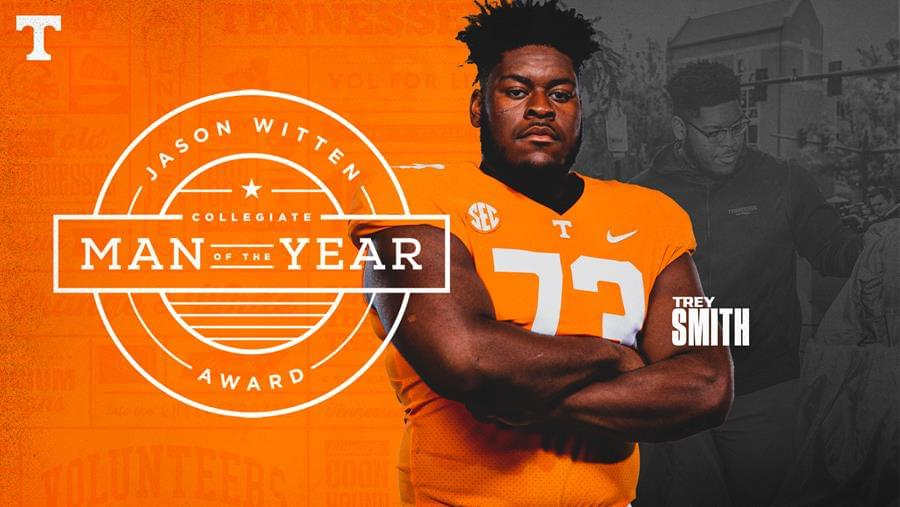 Smith Tabbed as Jason Witten Collegiate Man of the Year