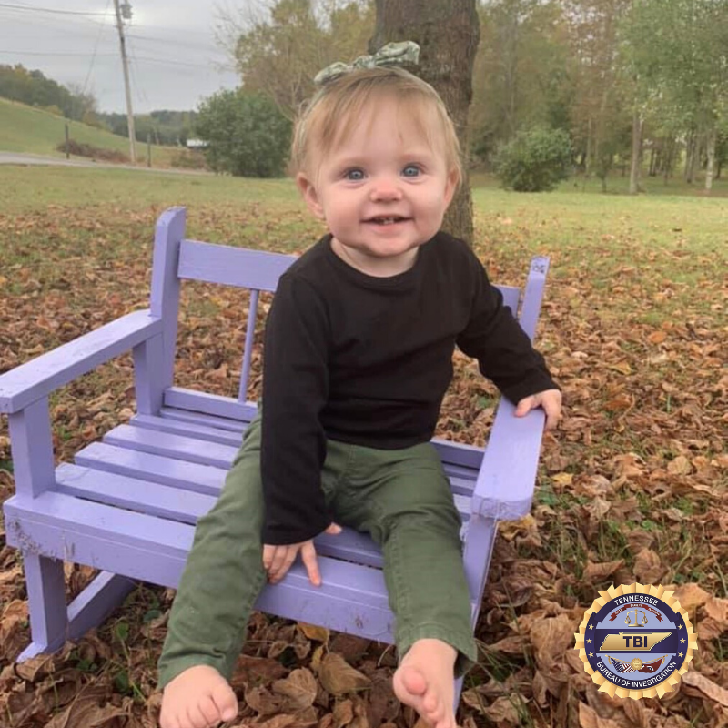 TBI: Remain Vigiliant in Search for 15-Month-Old Evelyn Mae Boswell