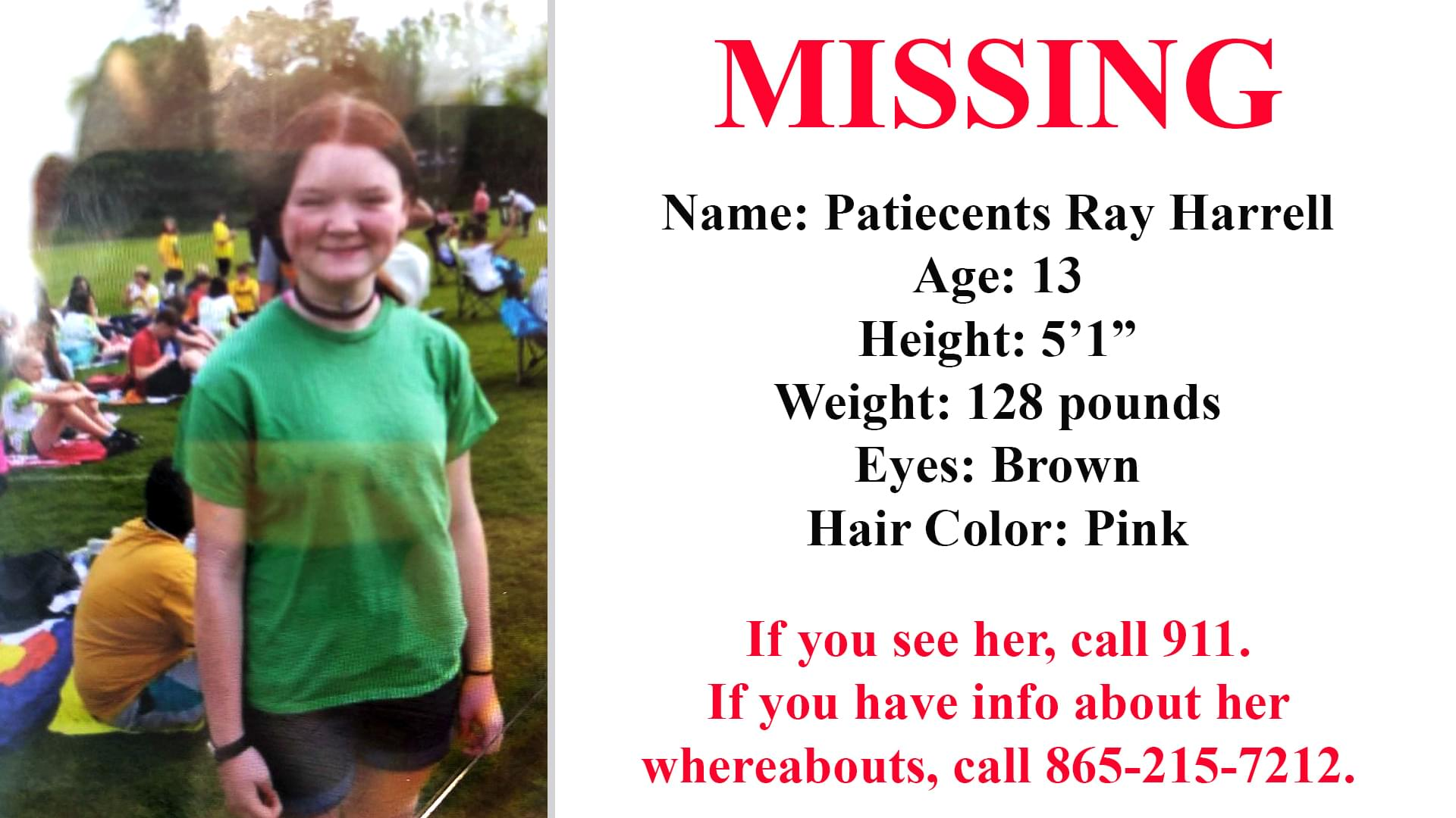 KPD Asking for Help to Find Missing Teen