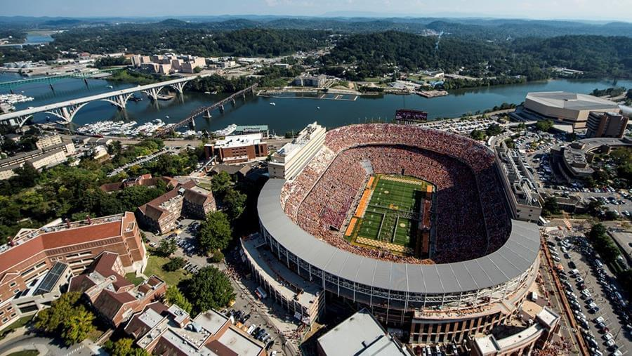 Topgolf Coming to Neyland Stadium