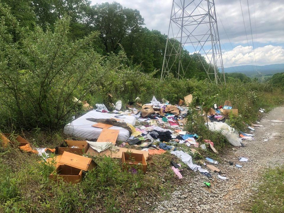 Two Morgan Co. Men Charged with Dumping at Mt. Roosevelt WMA