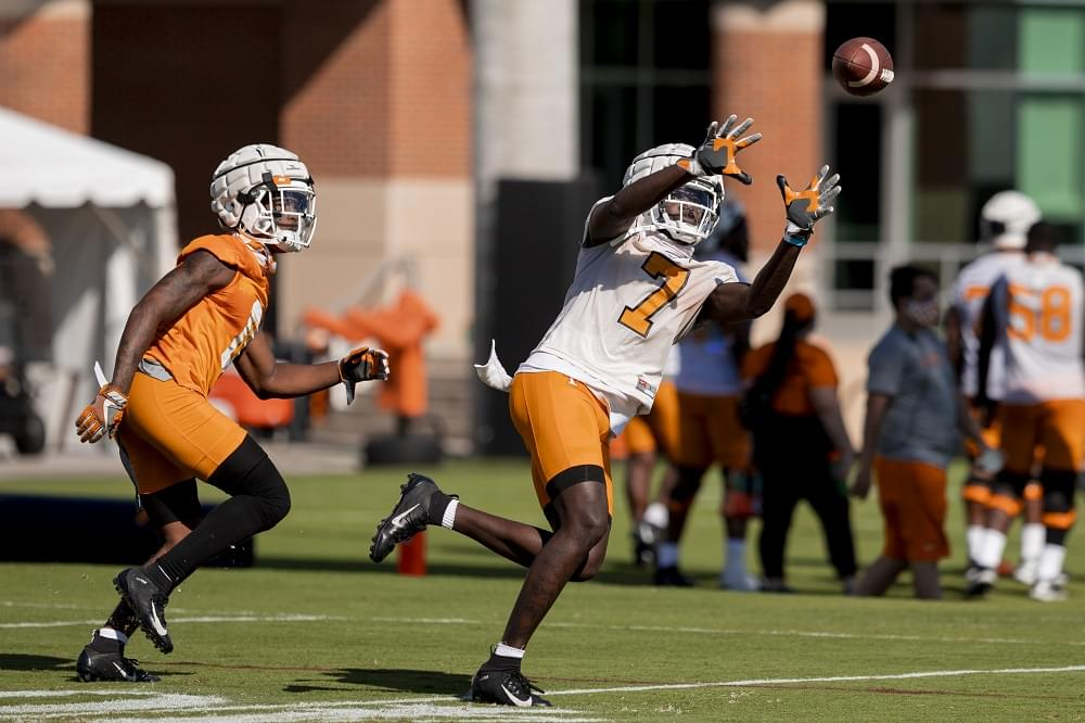 Full Transcript: Vols WR Brandon Johnson Missouri week avail